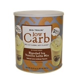 Low Carb Vanilla Latte Blended Ice Coffee Mix 1.85 lb Cans and lots more on this site!