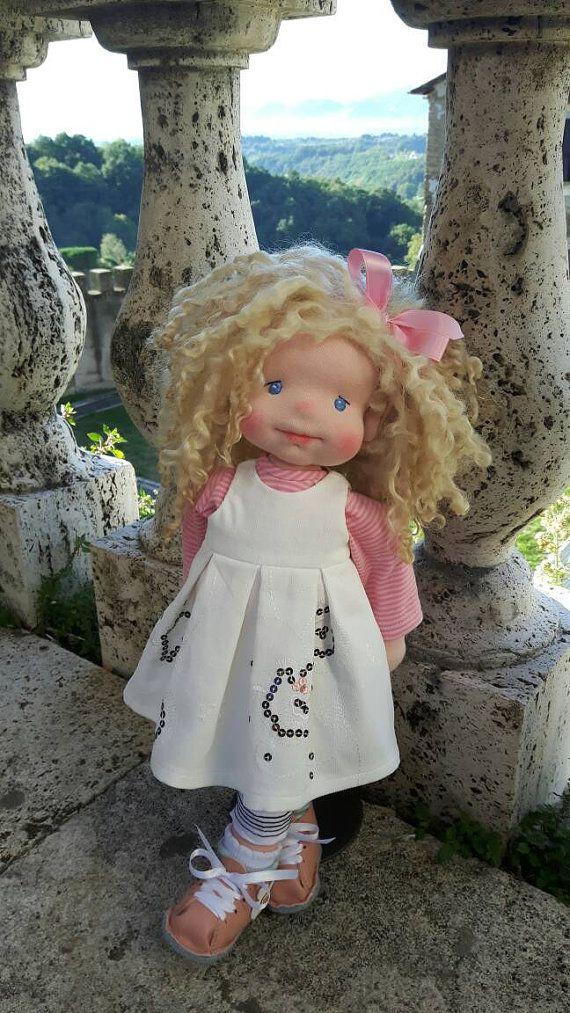 Emma waldorf doll by Magdadoll on Etsy