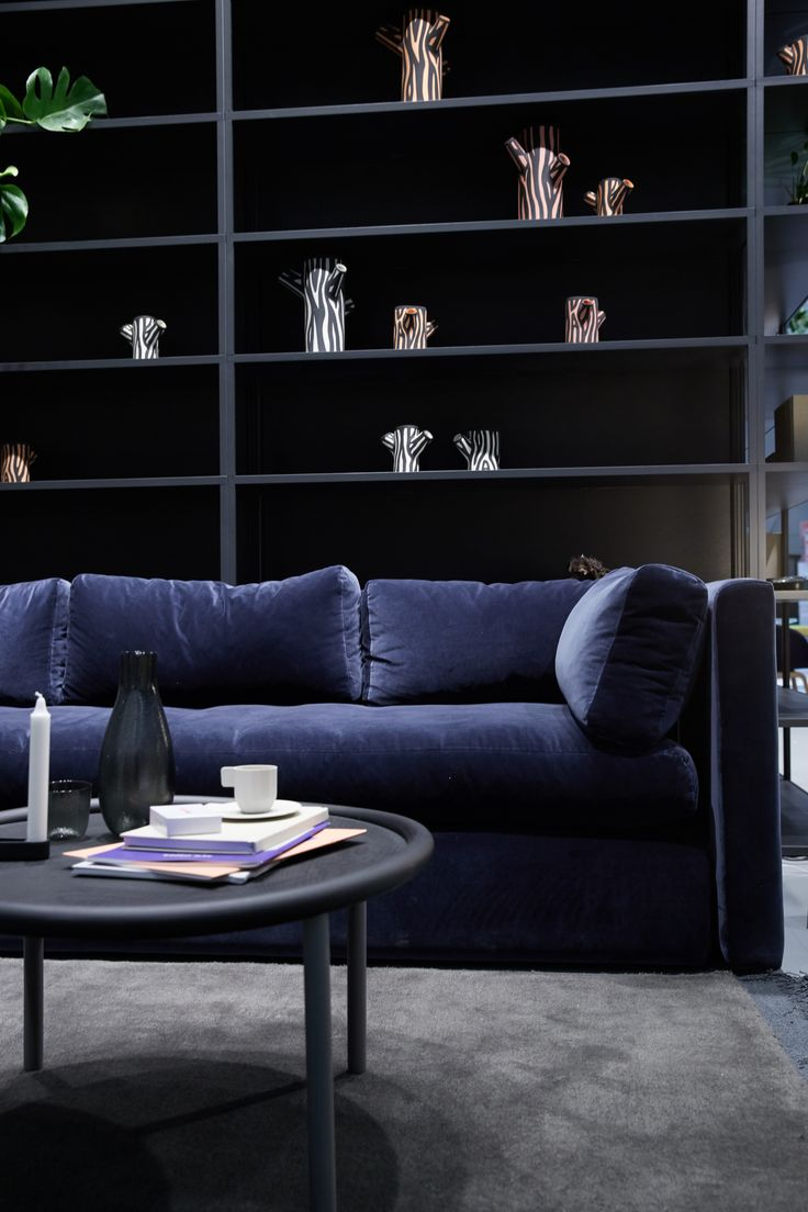 Hackney Sofa and Serve Table by Wrong for Hay