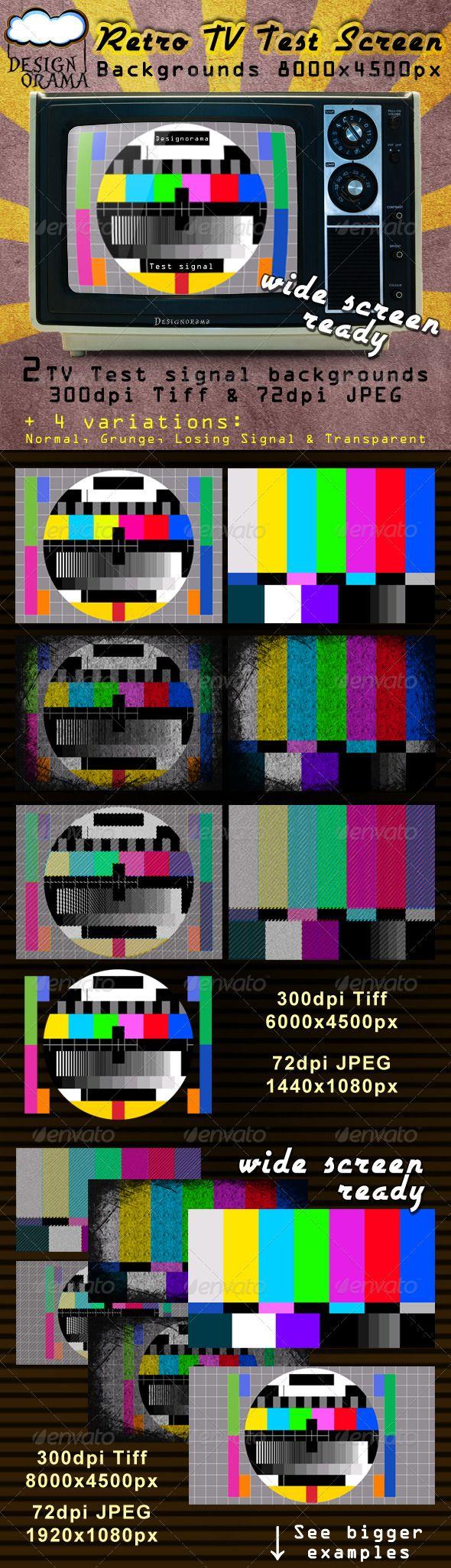 Retro tv test screen 3 00