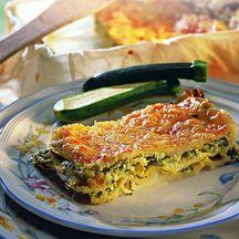 Lasagnes aux courgettes et au chèvre frais  10 PP ww