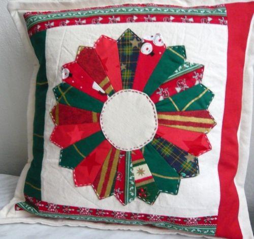 vánoční polštář