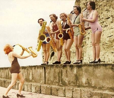 girls and saxophones :D
