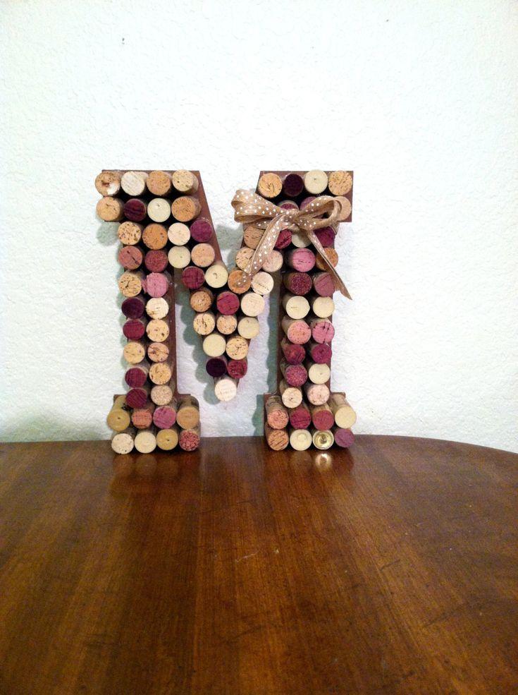 Best 25 Wine Cork Letters Ideas On Pinterest Cork