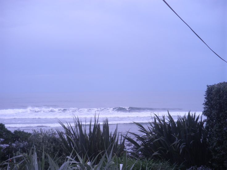 Surf's up at Stent Road.