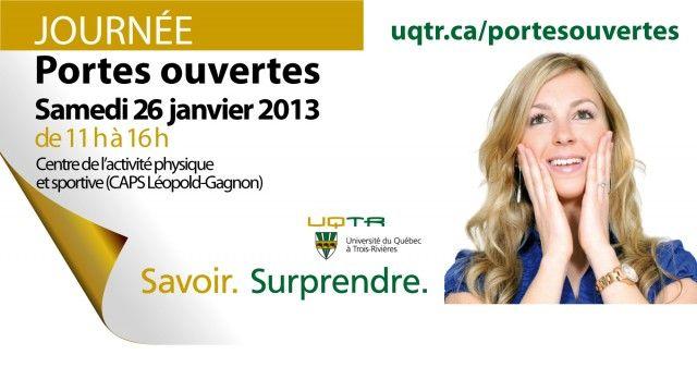 Portes ouvertes 26 janvier 2013, #UQTR