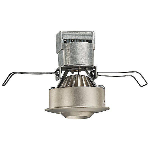 Juno Nickel Recessed Mini Led 2 Inch Gimbal Downlight Juno Lighting Downlights Lighting
