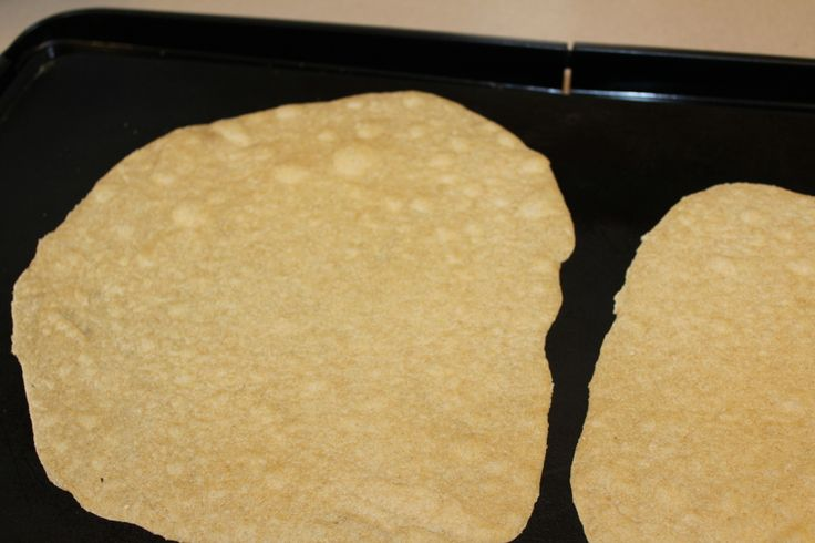 Homemade Whole Wheat Tortillas cook