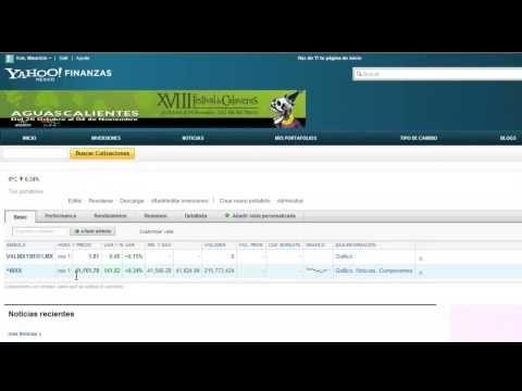 PractiFinanzas Da seguimiento a tu Portafolio de Inversión con Yahoo! Finanzas | PractiFinanzas