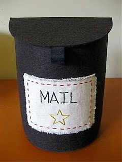 toy mailbox tutorial - For the kids