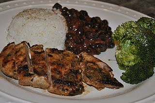 Mojo Criollo Chicken with Black Beans & Rice