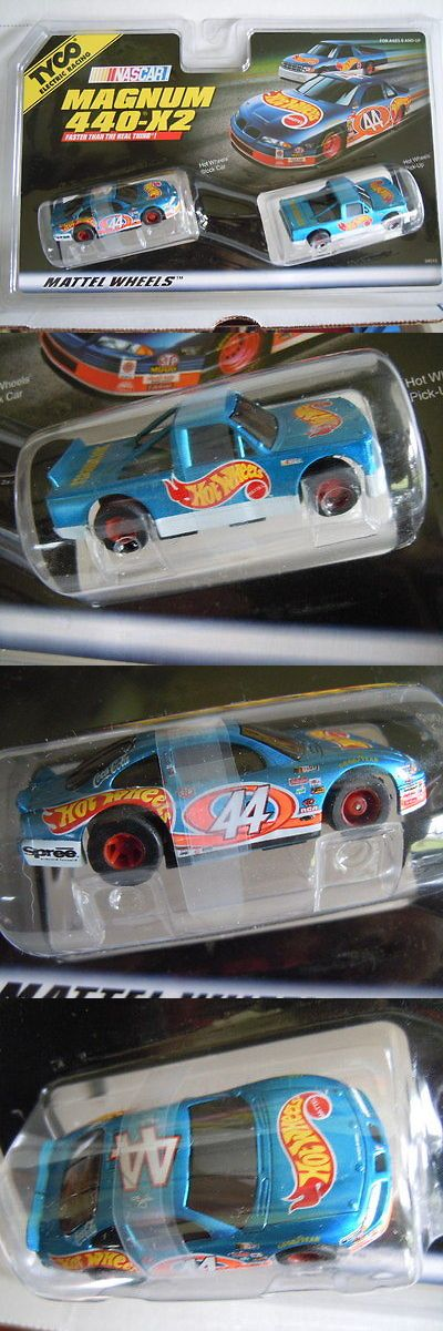 1970-Now 2619: Mattel ~ Tyco 440-X2 Slot Car And Truck Hot Wheels Twin Pack ~ 1998 -> BUY IT NOW ONLY: $35 on eBay!