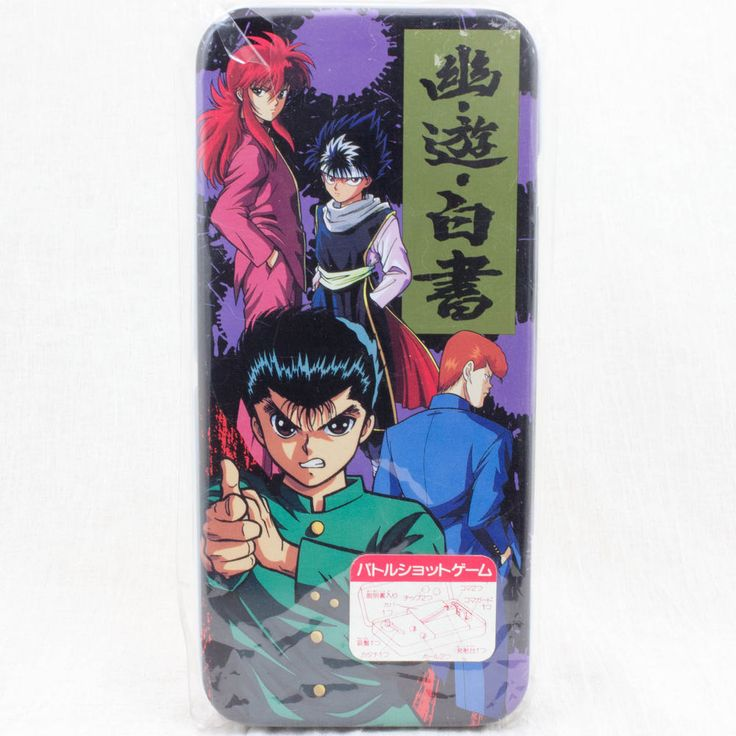 Yu Yu Hakusho Can Pen Case Battle Game JAPAN ANIME MANGA YUSUKE KURAMA HIEI