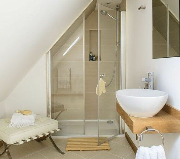 12 best Salle du0027eau images on Pinterest Home decor, Attic bathroom - sous couche salle de bain