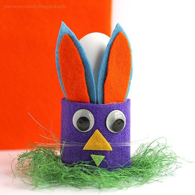 Journey into Creativity: Bunny egg holder