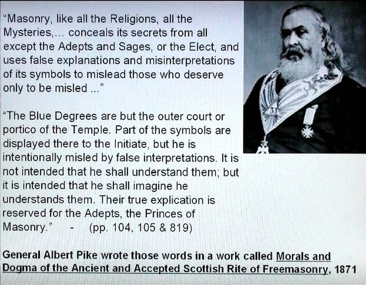 On August 15th, 1871 Albert Pike wrote a letter to Giuseppe Mazzini outlining three world wars that would be necessary to bring about world government. The first two happened precisely as Pike had planned decades prior, and the third eerily resembles the current world political situation. They are mainly concerned with crushing Christianity and the nations that Judeo-Chrsitians built, they are THEE Bolsheviks (Satanists) subverting souls & creating global suffering.