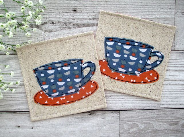 Coffee Cup Coasters £10.00