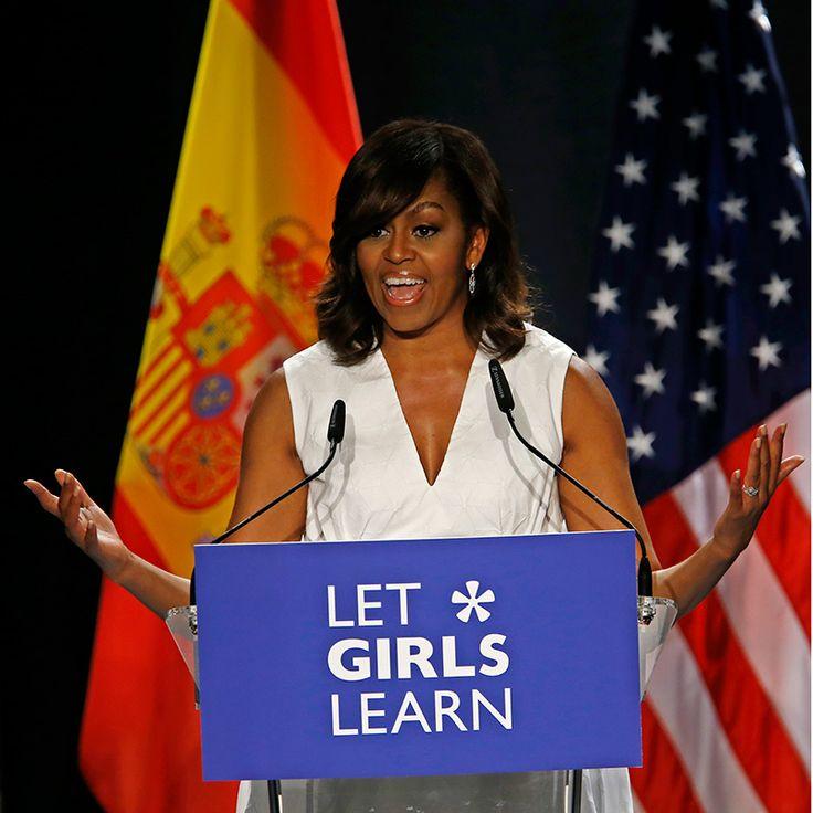 世界の女の子に教育をゼンデイヤがミシェルオバマを直撃インタビュー