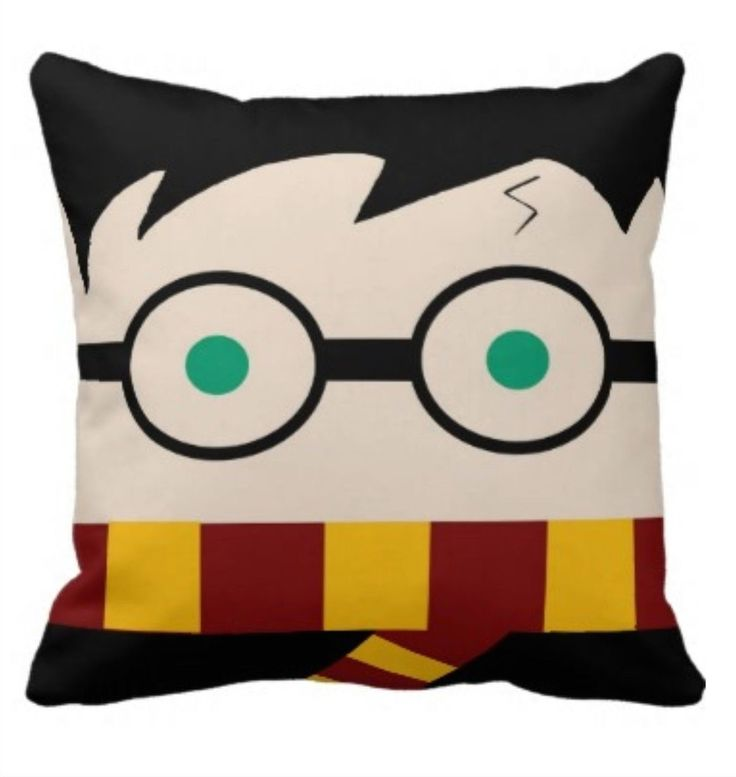 Rest your head on this #HarryPotter pillow and your dreams will be full of magic ..... Price: $34.99 .... Where to Buy: AlwaysFits.com .... <3 the #GiftDetectives