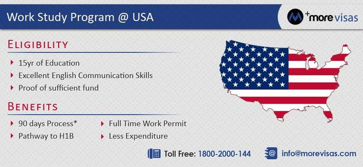 Are willing to apply #USAWorkStudy Program, then fill out our Enquiry form at http://www.morevisas.com/quick-enquiry/