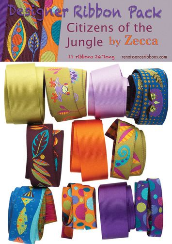 DP-24 Designer Ribbons Pack Zecca Jungle picture