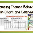 Camping Themed Clip Behavior Chart With Positive Behavior Support  Need an alternative to taking recess time away as a behavior consequence? Need a...