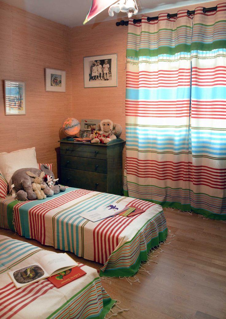 Les 25 meilleures id es de la cat gorie rideaux rayures - Ou trouver des oeillets pour rideaux ...