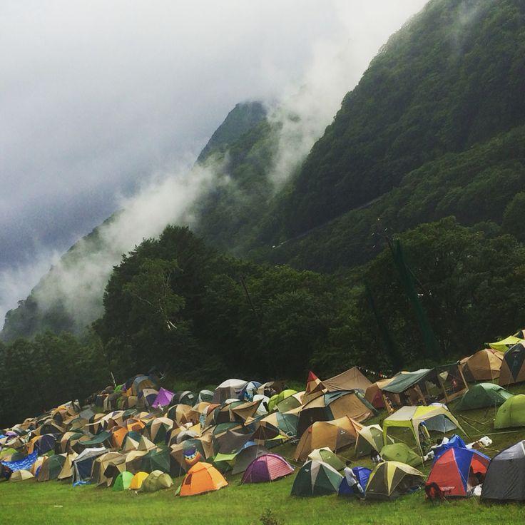 fujirock2015 愛しきテント村