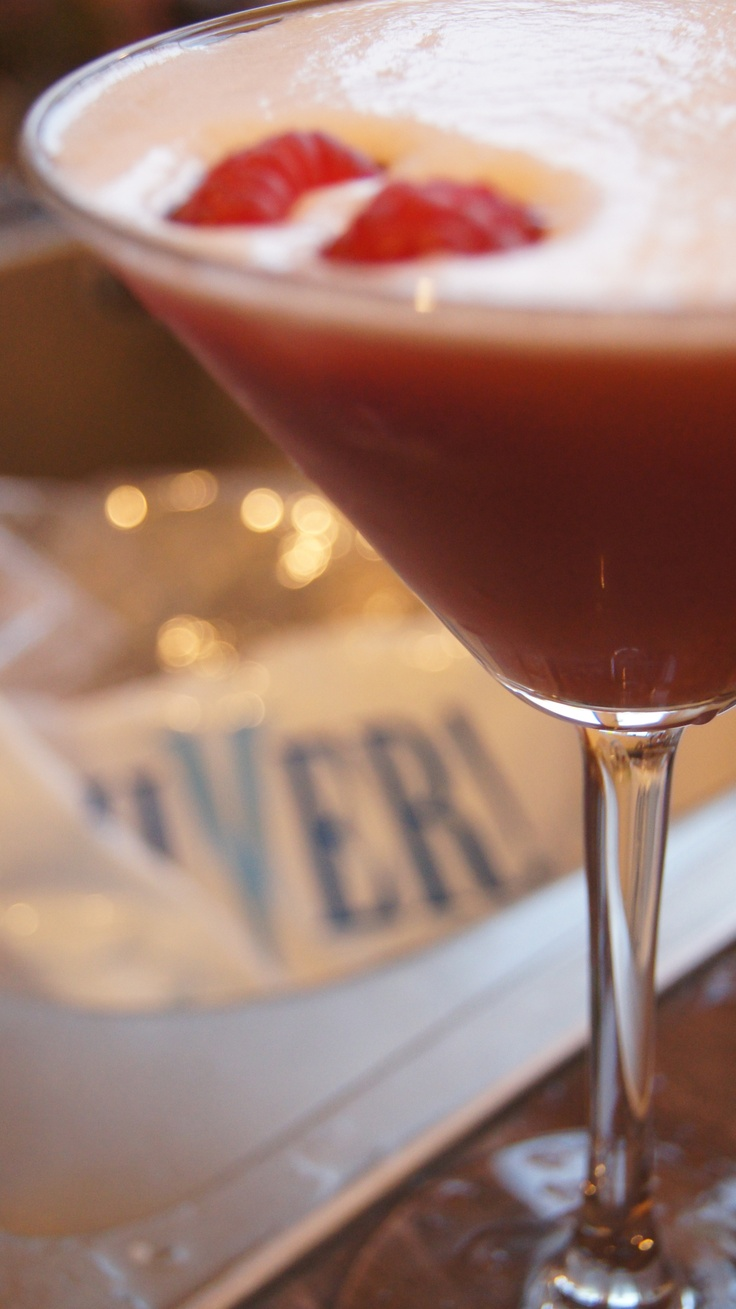 French Martini. These were going down well last night.