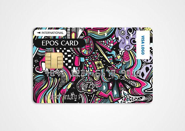 EPOS Credit Card on Behance