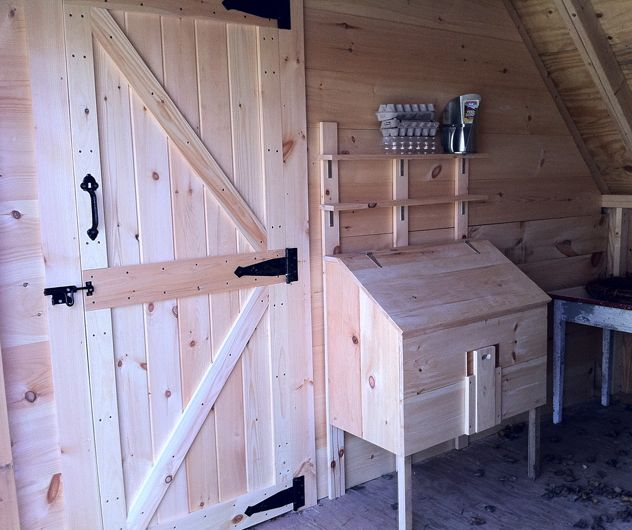 Chicken Coop And Garden Shed