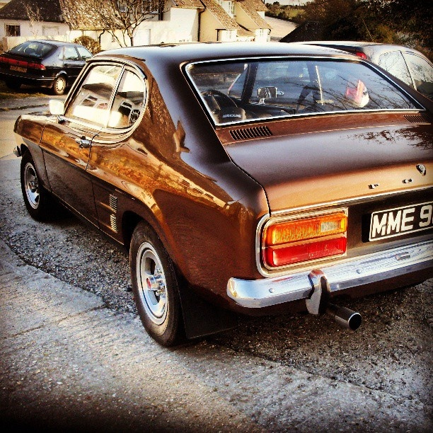 One of my old skool favourites - Ford Capri