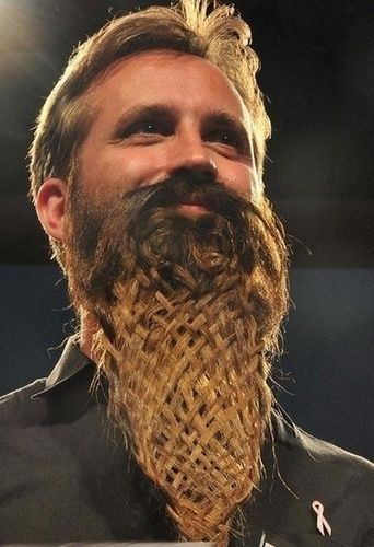 11 Epic Beards – The Functional Side of Facial Hair : : manly basket weaving skill