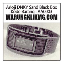 toko online multi produk : warungklikmg.com: Arloji DNKY Sand Black Box - Kode Barang : AA0003
