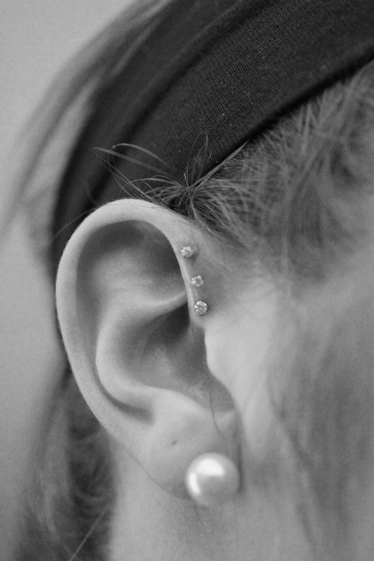 Bump near cartilage piercing   best Piercings images on Pinterest  Piercing ideas Earrings