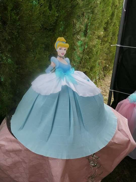 Piñata de cenicienta