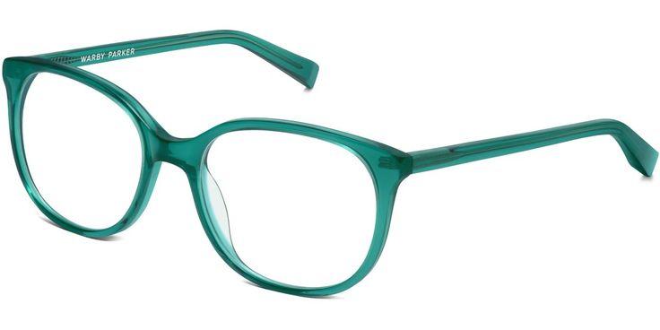 Warby Parker Laurel Peacock Green