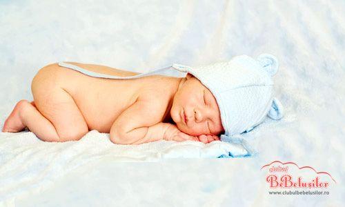 Somnul bebelusului  Pentru a se dezvolta intr-un mod normal si sanatos, micutul tau are nevoie de mancare, afectiune si somn.