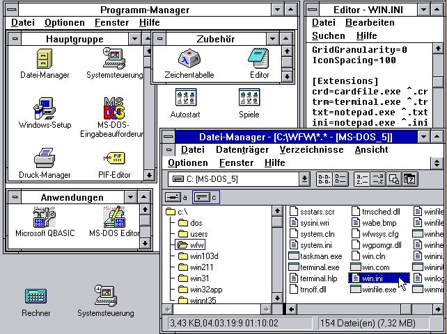 Windows 3.11
