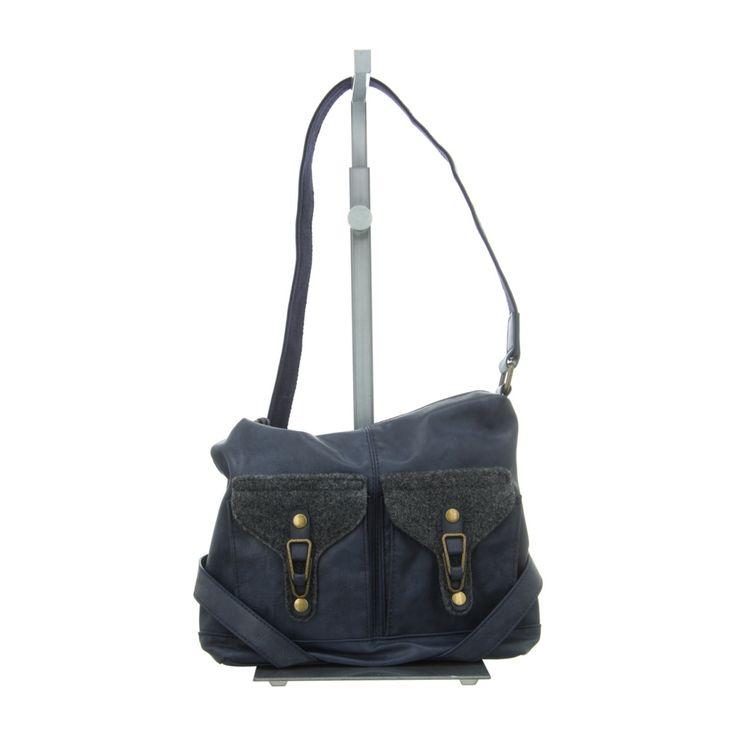 NEU: Rieker Handtaschen H1440-16 - blau kombi -