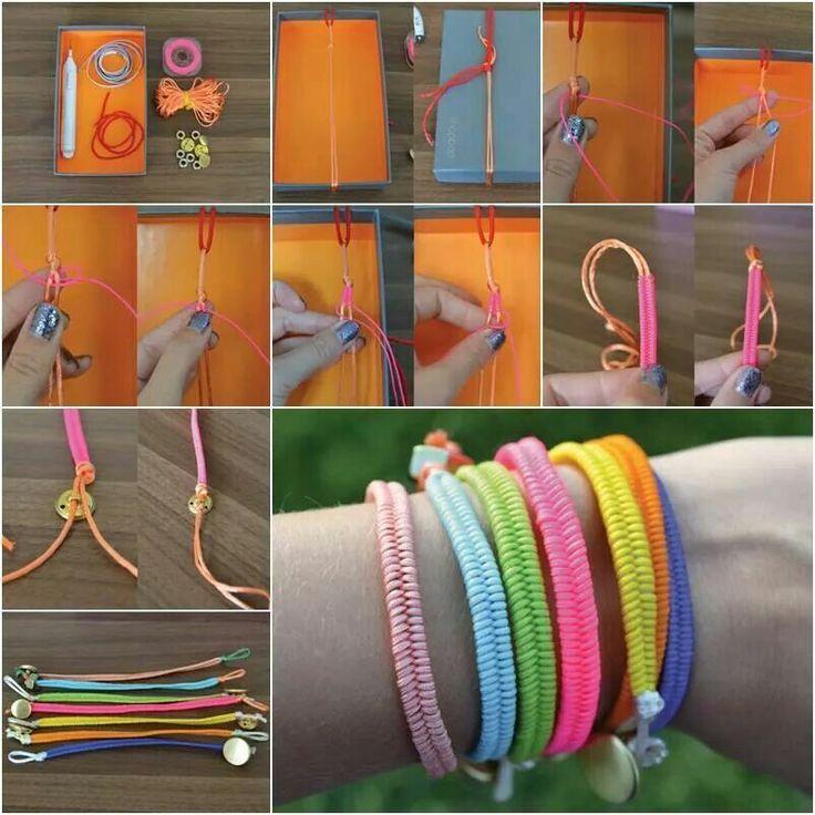 Neon bracelet