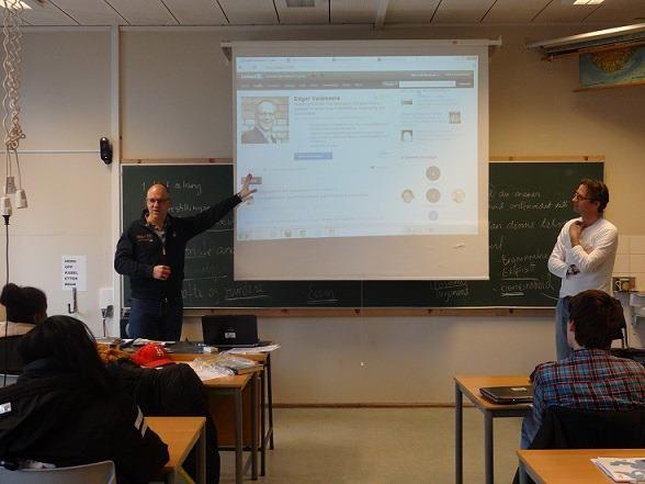 """I april hadde noen heldige klasser på VG3 besøk av Edgar Valdmanis som er Norges """"LinkedIn-guru"""". Besøket er et ledd av skolens satsing på nettverksbygging som ledd i karriererådgivningen.     Les mer på Facebook."""