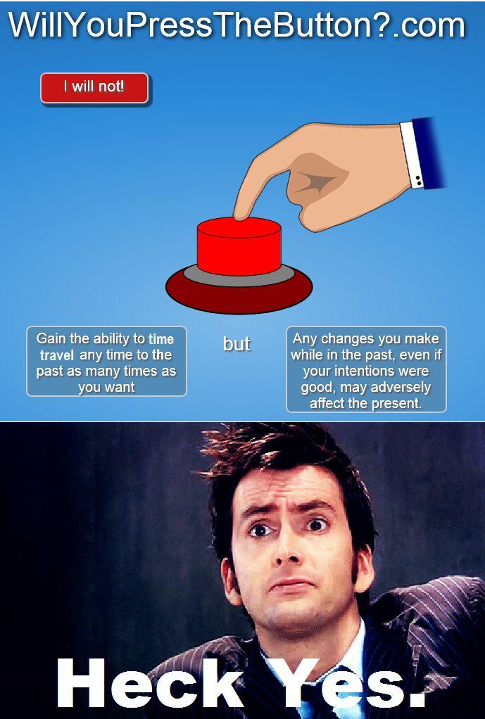 I'm pretty sure David pressed the button. | Really funny ...