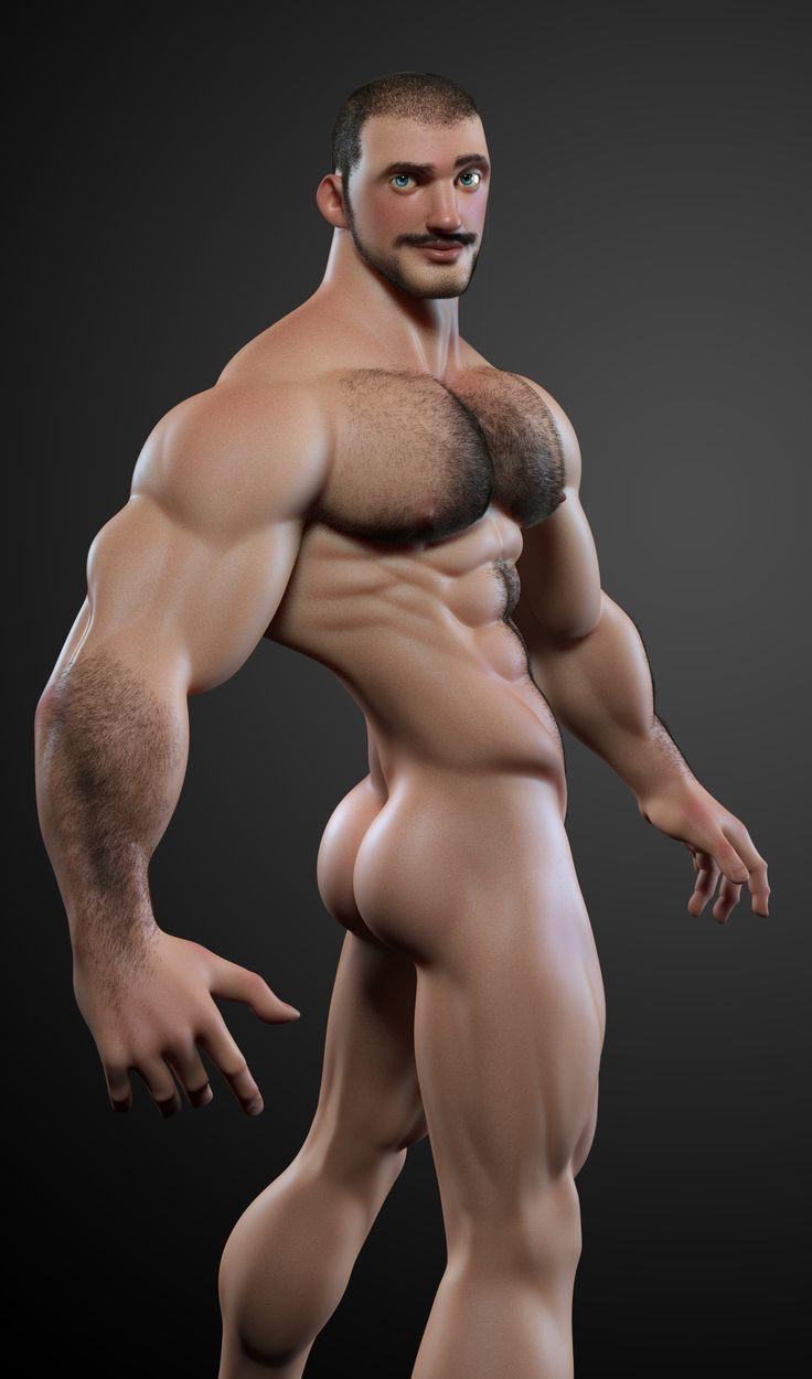 3d Gay Muscle Men