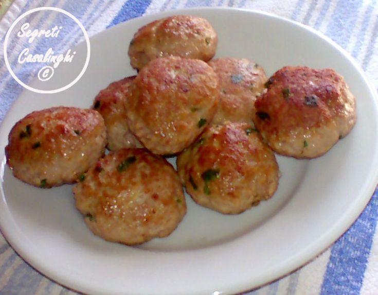 Polpette salame patate pecorino ricette secondi piatti carne - Secondi piatti da cucinare in anticipo ...