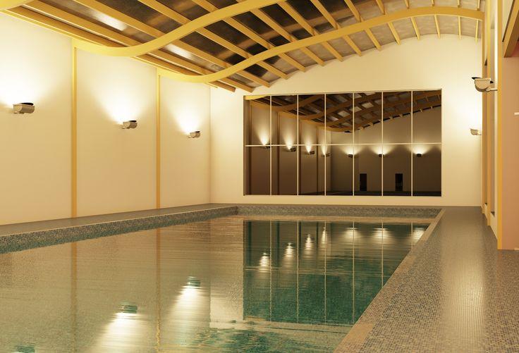 Swimming Pool Revit Render Architecture Work Pinterest