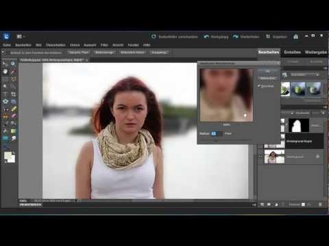 Der neue Assistent »Feldtiefe« - Photoshop Elements 10