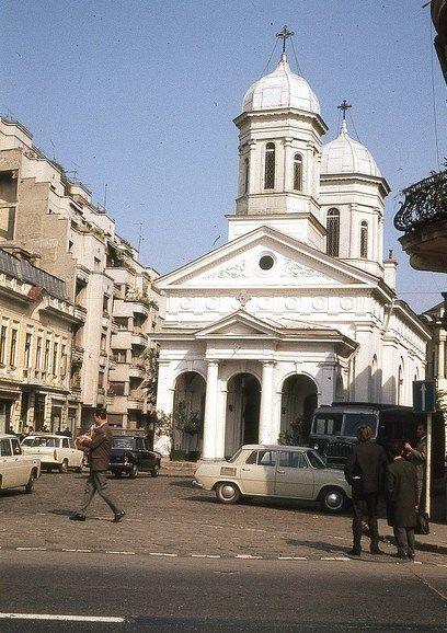 Calea Victoriei.Biserica Albă, 1971