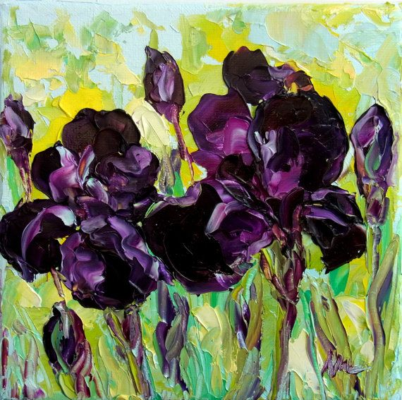 Cabbage Rose Flower Print Purple Abstract Art Kitchen Wall: 1000+ Images About Abstract Acrylic Paintings On Pinterest
