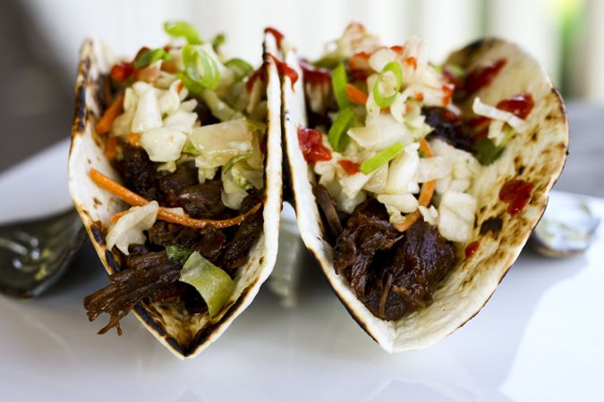 Slow Cooker Korean Beef Tacos for Make Ahead Mondays on www ...